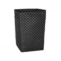 Handed By Laundry basket LYON dark grey black