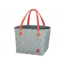 Handed By shopper Color Block greyish green