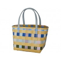 Handed By shopper Color Block mustard mix