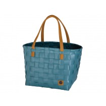 Handed By shopper Color Block teal blue