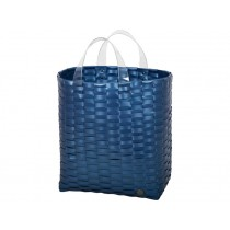 Handed By shopper Victoria metallic blue