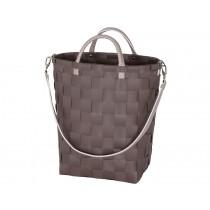 Handed By shopper YUP handbag stone brown