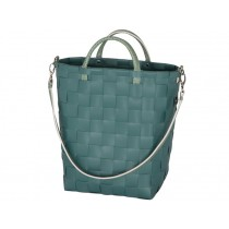 Handed By shopper YUP handbag teal blue