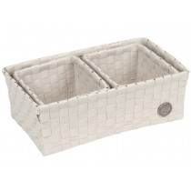 Handed By Volterra basket pale grey