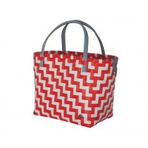 Handed By Shopper WAVES coral red