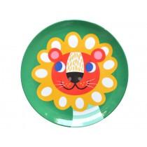 Helen Dardik melamine plate lion