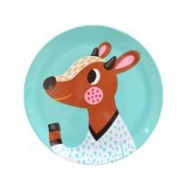 Helen Dardik melamine plate fawn