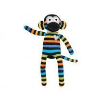 Hickups sock monkey black/multi