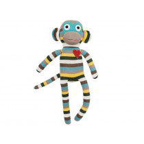 Hickups sock monkey grey/multi