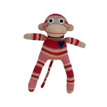 Hickups sock monkey mini red / beige