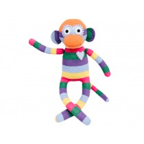 Hickups sock monkey rainbow
