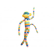 Hickups XXL sock monkey white/pastel