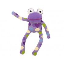 Hickups sock frog purple