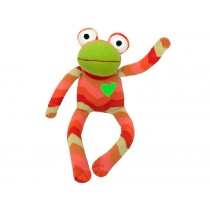 Hickups sock frog orange