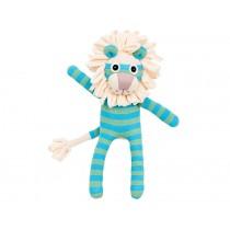 Hickups sock lion blue green