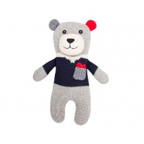 Hickups knitted teddy grey