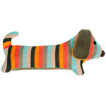 Hickups knitted DACHSHUND multicolour