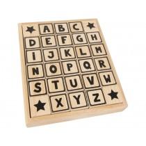 JaBaDaBaDo Wooden Blocks ABC