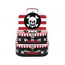 Jabadabado suitcases pirate
