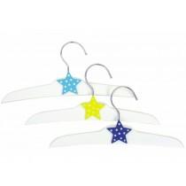 JaBaDaBaDo clothes hanger with star