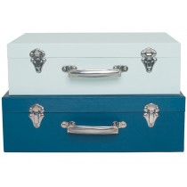 JaBaDaBaDo suitcase set BLUE