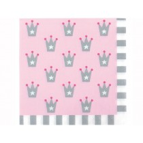 JaBaDaBaDo party napkins PRINCESS light pink