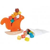 Janod squirrel nut balance game