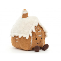 Jellycat Amuseable Christmas GINGERBREAD HOUSE