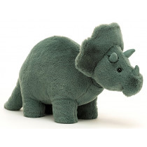 Jellycat Fossily Dino TRICERATOPS