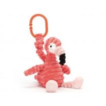 Jellycat Wriggle Toy FLAMINGO