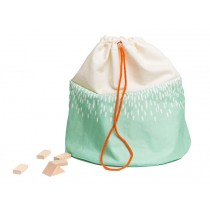 Julica tipikids toy bag mountain mint