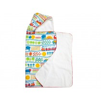 Train hooded towel from byGraziela