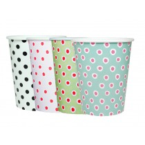 krima & isa paper cups dots