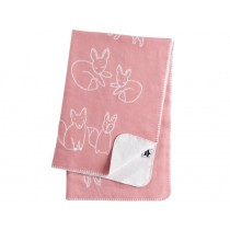 Kids Concept jacquard blanket Edvin pink