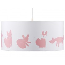 Kids Concept hanging lamp Edvin pink