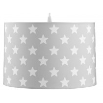 Kids Concept hanging lamp grey stars