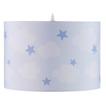 Kids Concept hanging lamp clouds blue
