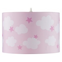 Kids Concept hanging lamp clouds pink