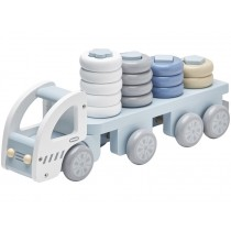 Kids Concept truck sorting soft blue
