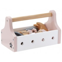Kids Concept tool box soft pink