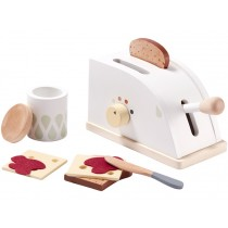 Kids Concept Toaster Set WHITE
