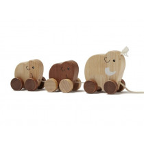Kids Concept Pull-Along Animal MAMMOTH FAMILY