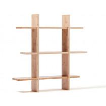 Kids Concept Hanging Shelf natural wood