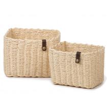 KidsDepot Woven Basket Set Nouk NATURAL