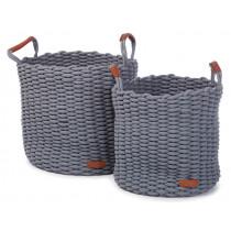 KidsDepot Woven Basket Set KORBO Mist L
