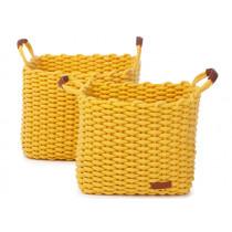 KidsDepot Woven Basket Set DENGU yellow