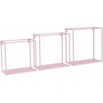 KidsDepot Squared Wallbox Shelf PINK