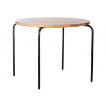 KidsDepot Children's Round Table BLACK