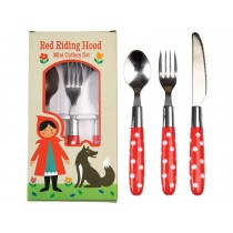 Rexinter children's cutlery Red Riding Hood