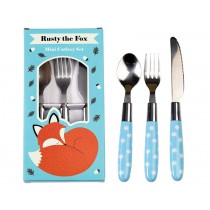 Rex London children's cutlery Rusty the Fox